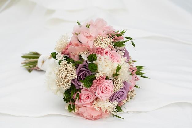 Bouquet De La Saint Valentin Photo Premium