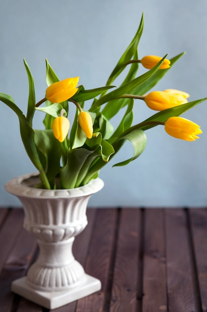 Bouquet de tulipes Photo Premium