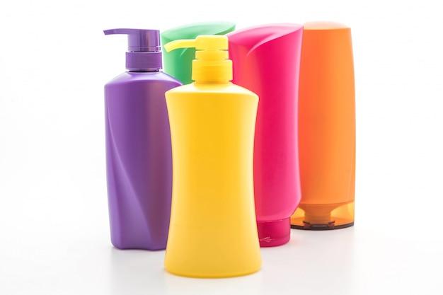 Bouteille de shampoing ou revitalisant Photo Premium