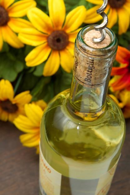 Bouteille de vin Photo Premium