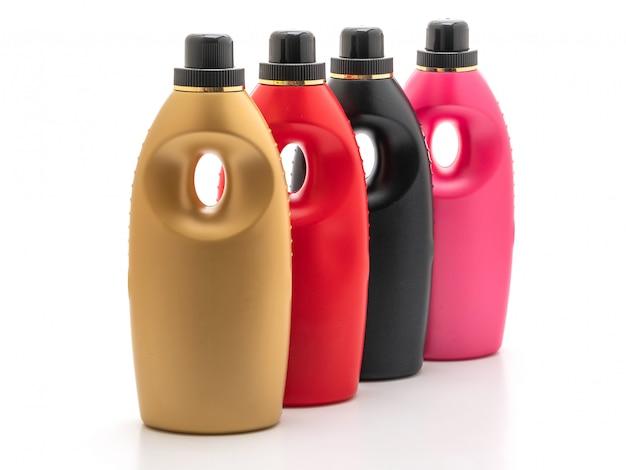 Bouteilles de détergent en plastique Photo Premium