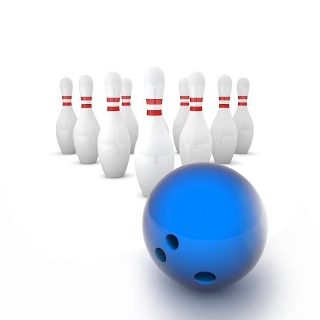 Bowling Photo Premium