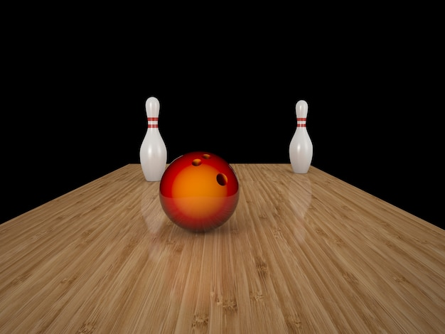 Bowling Photo Premium