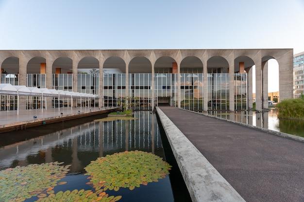 Brasilia, Brésil - 03 Mars 2007 - Palais Itamaraty Brésilien - Foreign Office - Département D'état Photo Premium