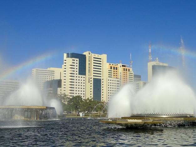 Brésil brasilia eau lac nuages fontaines ciel Photo gratuit