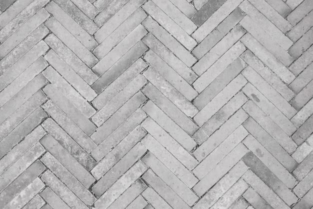 Les Briques Sont Disposées En Diagonale Photo Premium