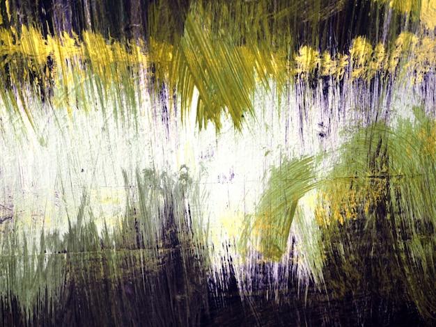 Brousse course eau couleur abstrait. Photo Premium