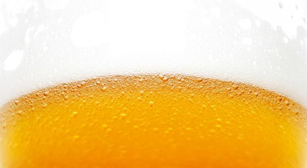 Bulles de bière Photo Premium