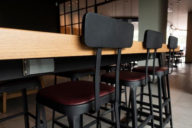 Bureau et chaises modernes Photo Premium