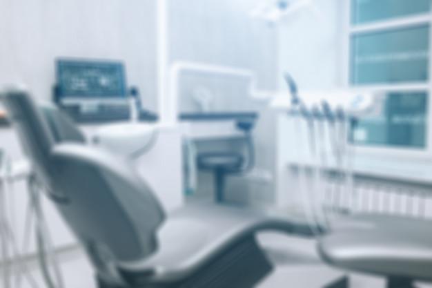 Bureau De Dentiste, Hygiène Dentaire, Chaise De Dentiste. Photo Premium