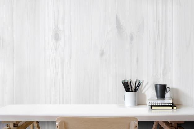 Bureau intérieur moderne jeune chambre avec Photo Premium