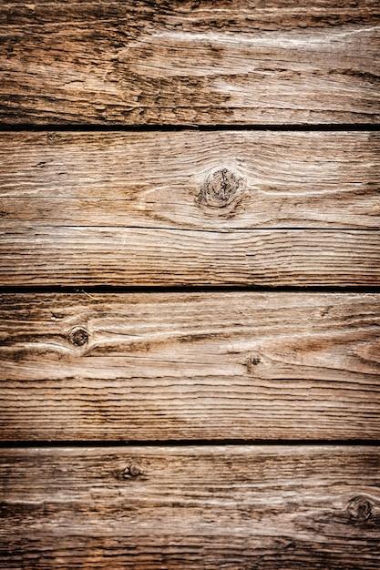 Bureaux En Bois Marron à Partir De Planches Photo gratuit
