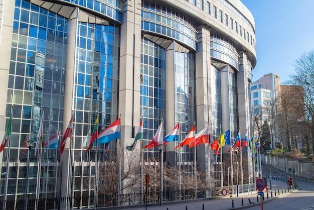 Bureaux Du Parlement Européen à Bruxelles, Belgique Photo Premium