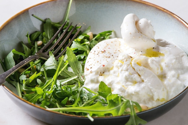 Burrata italienne Photo Premium