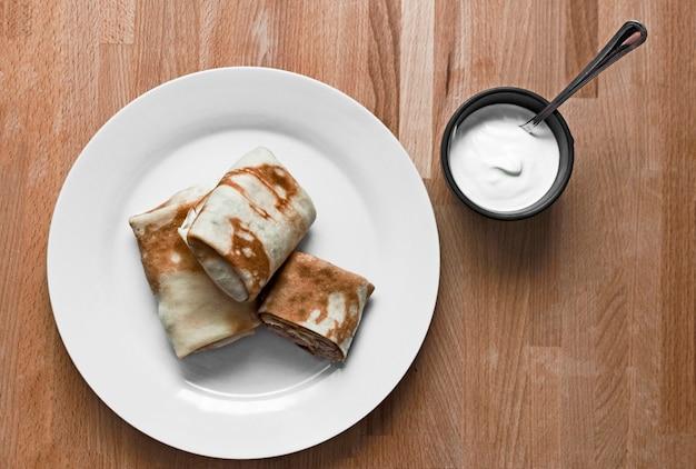 Burritos Grillés Photo Premium