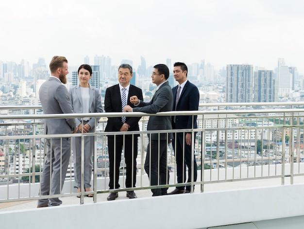 Business briefing présentation de la diversité Photo gratuit
