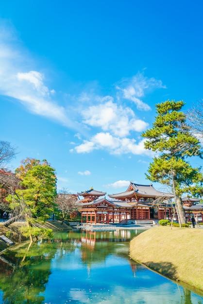 Byodo-in temple kyoto, japon Photo gratuit