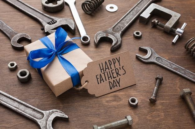 Cadeau De Fête Des Pères Photo gratuit