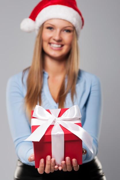 Cadeau De Noël Spécial De Notre Entreprise Photo gratuit