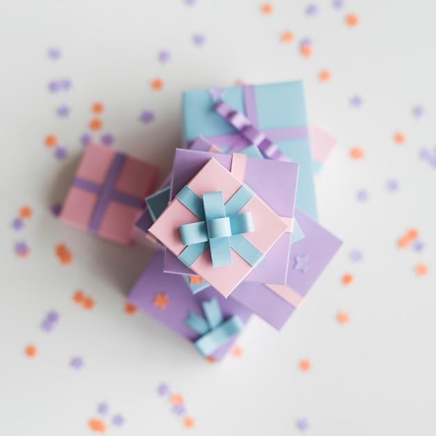 Cadeaux cadeaux saisonniers vacances donner Photo Premium