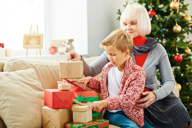 Cadeaux De Noel Photo gratuit