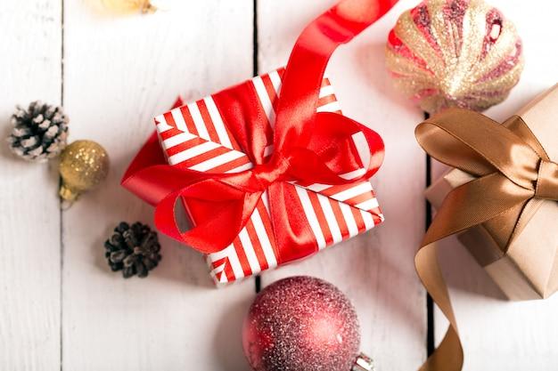 Cadeaux de noël Photo Premium