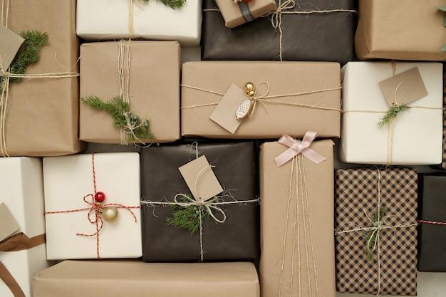 Cadeaux De Noël Photo gratuit