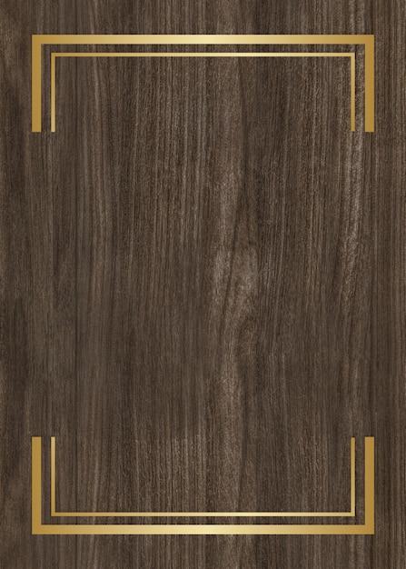 Cadre en bois texturé Photo gratuit