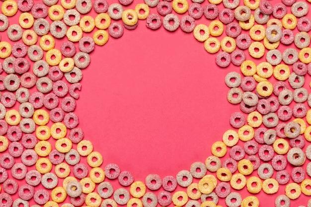 Cadre de céréales avec fond d'espace copie Photo gratuit
