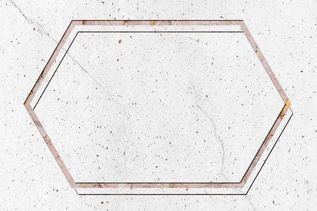 Cadre de design en marbre Photo gratuit