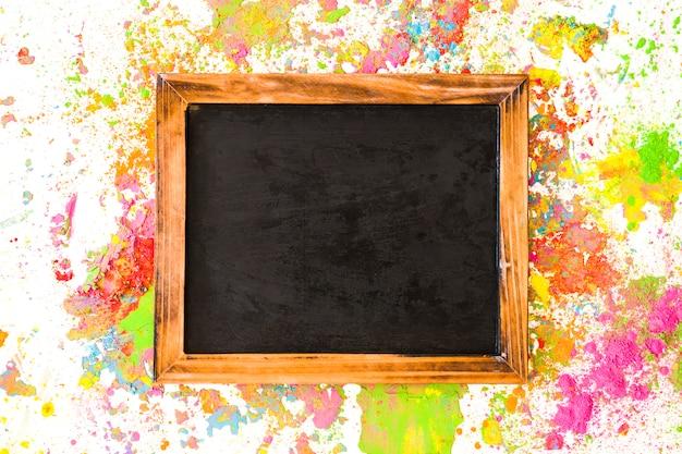 Cadre entre couleurs sèches vives Photo gratuit