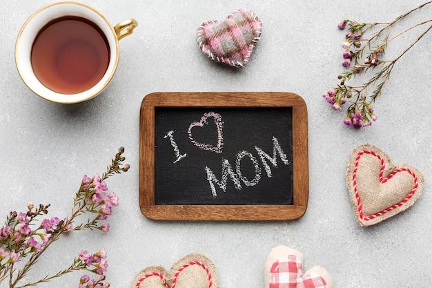 Cadre Avec Message Pour La Mère Photo gratuit