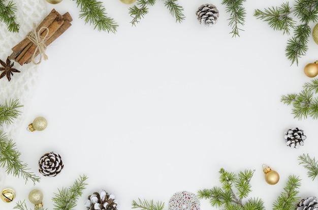 Cadre De Noël Noël, Design Tendance Du Nouvel An Photo Premium