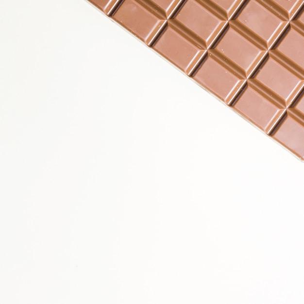 Cadre de nourriture vue de dessus avec chocolat noir Photo gratuit