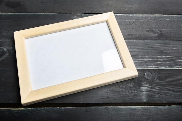 Cadre de papier vierge Photo Premium