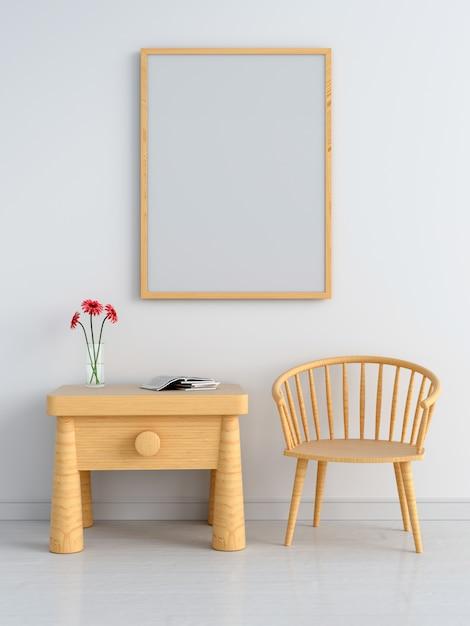 Cadre photo vierge pour maquette Photo Premium