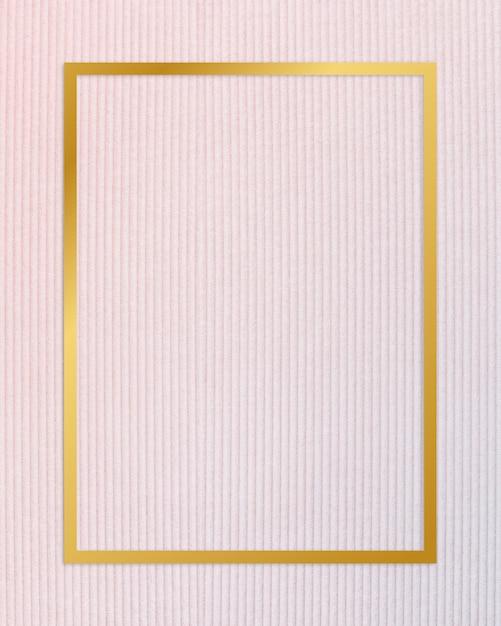 Cadre de toile texturée Photo gratuit
