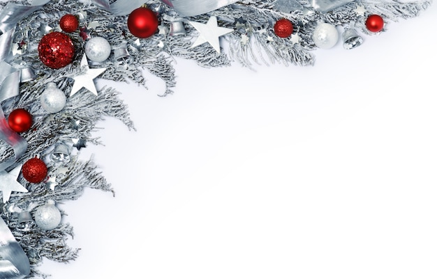 Cadre De Vacances De Noël Photo Premium