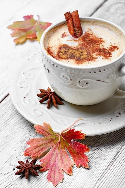 Café aux épices Photo Premium