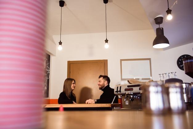 Café-bar Photo Premium