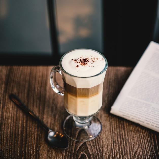 Café Café Latte Cappuccino Concept De Journal Photo gratuit