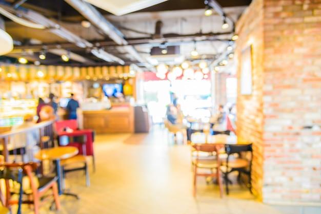 Café flou abstrait Photo gratuit