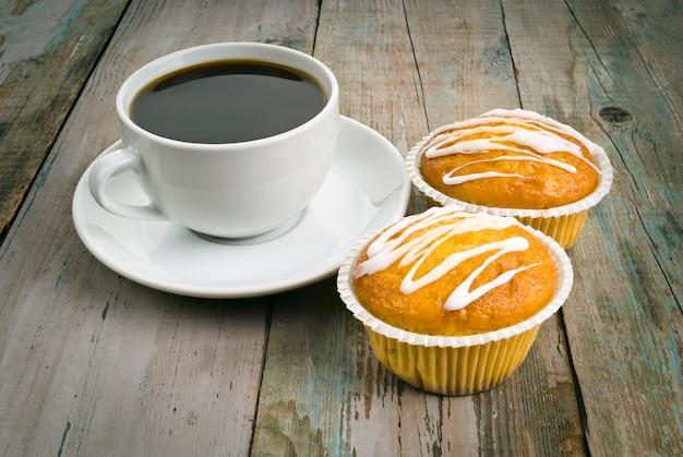 Café Et Muffin Photo Premium