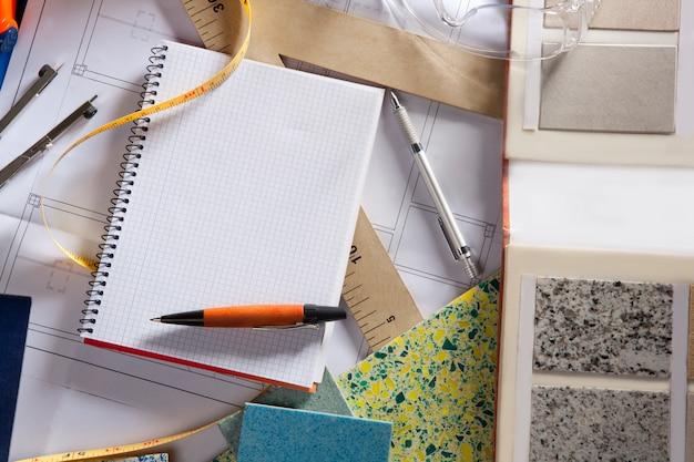 Cahier de notes à spirale Photo Premium