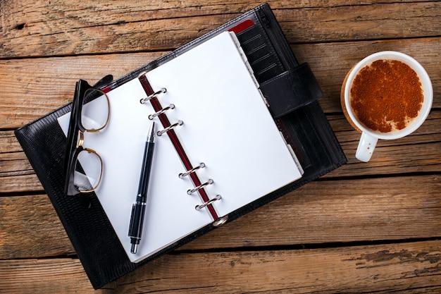 Cahier avec stylo Photo Premium