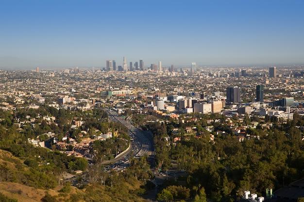 Californie du centre-ville de los angeles Photo Premium