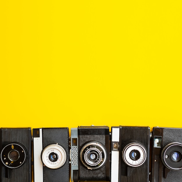 Caméra Collection D'appareils électroniques Photo gratuit