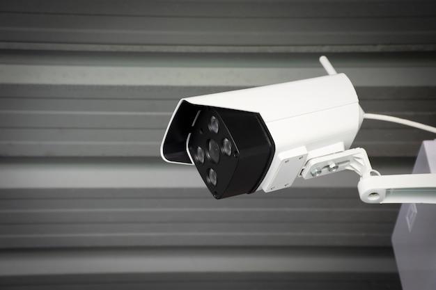 Caméra De Sécurité Cctv Photo Premium