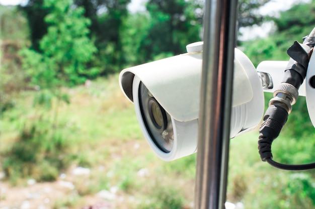Caméra de vidéosurveillance à domicile. Photo Premium