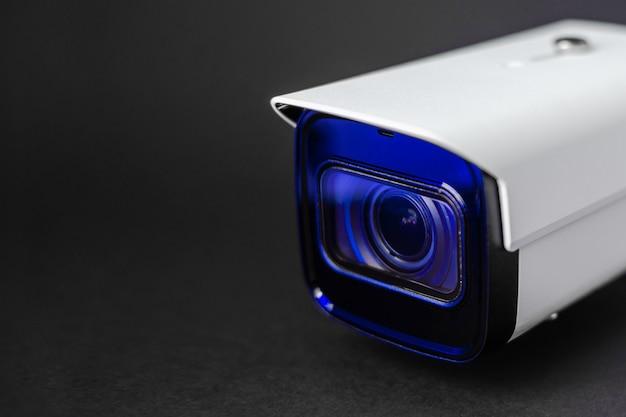 Caméra De Vidéosurveillance. Système De Sécurité. Photo Premium